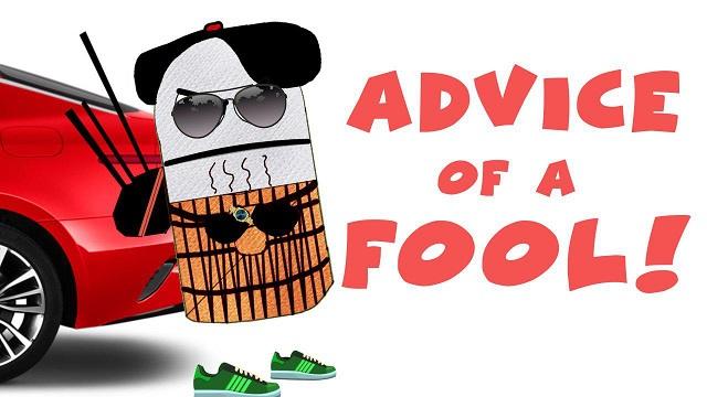 Advice of a fool – Scott asks Old Saffron for advice | BISKITOONS
