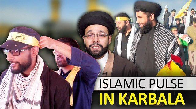 The Islamic Pulse Team in Karbala   Arbaeen 2019