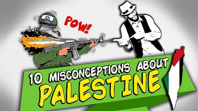 10 Unforgivable Misconceptions about PALESTINE | BISKIT