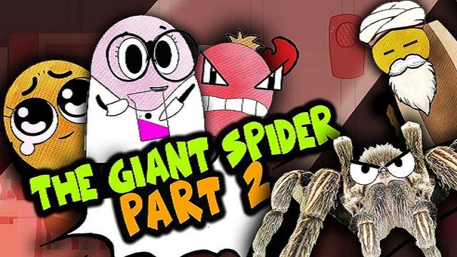 The Giant Spider Pt. 2 | BISKITOONS