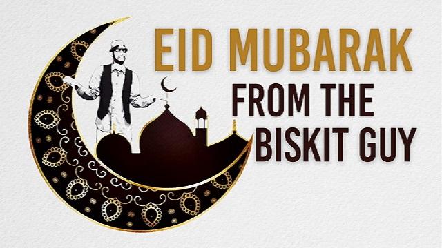 Eid Mubarak from the BISKIT Guy | BISKIT
