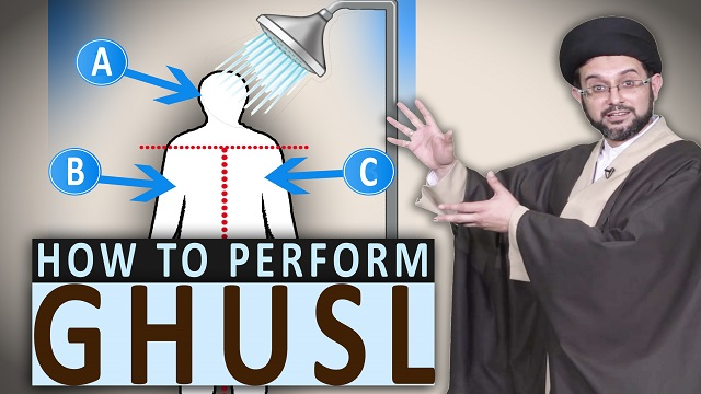 What is Ghusl (ritual bath) and How do we Perform it? | MicroFiqh | English