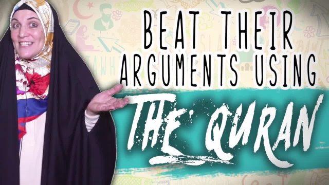 Beat their Islamophobic Arguments USING THE QURAN | Sister Spade | English