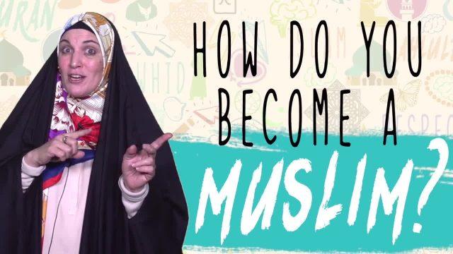 How Do you Become a Muslim? | Sister Spade | English