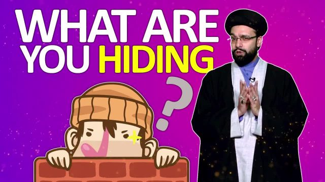 What are you hiding? | One Minute Wisdom | English