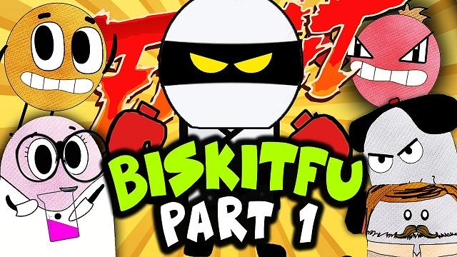 BISKIT FU Pt. 1/6 | The Mask of Fury | BISKITOONS | English