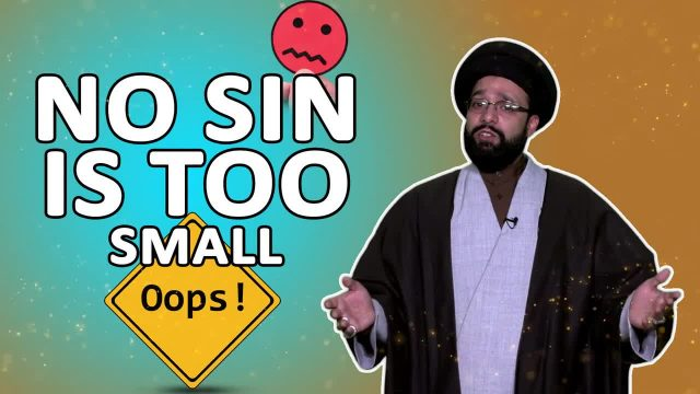 No Sin is Too Small   One Minute Wisdom   English
