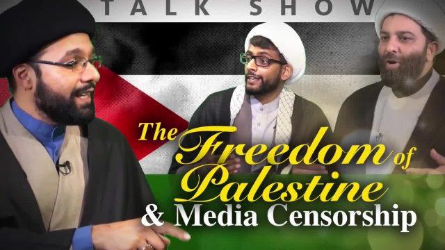 The Freedom of Palestine & Media Censorship | IP Talk Show | English