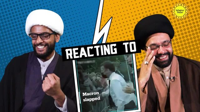 Macron Got Slapped | Reaction Time | English